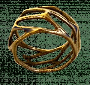 Anello prodotto con l'additive per l'ottone